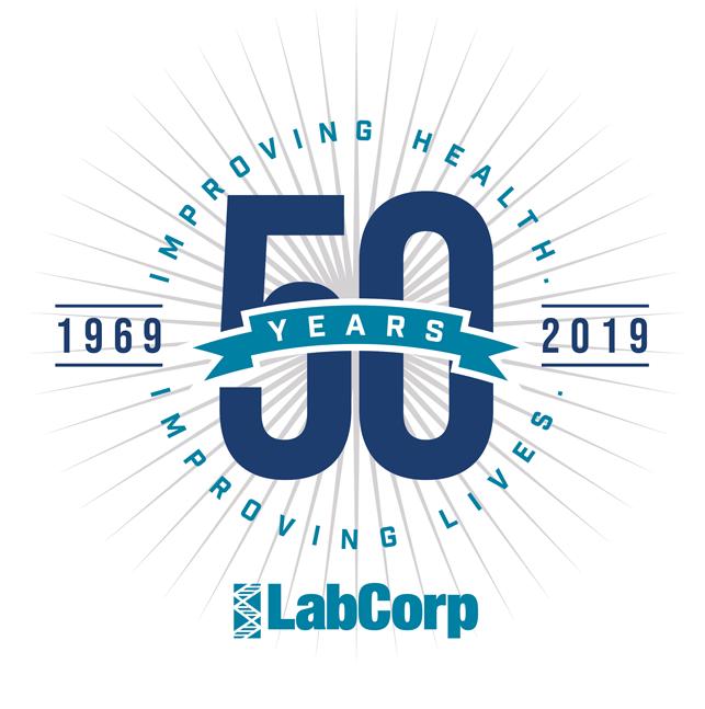 LabCorp 50 Years