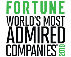 Fortunes World's Most Admired Companies 2019