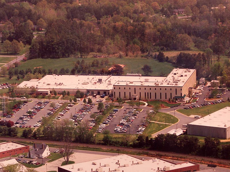 In 1992, the first addition was built to the LabCorp York Court laboratory in Burlington, N.C., making it one of the largest laboratories in the world at the time with a total of 205,000-square-feet.