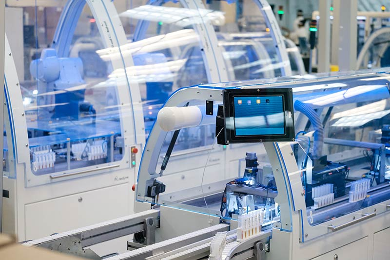 In 2013, LabCorp added Propel® robotic automation in labs to more efficiently prepare and sort patients' blood specimens.