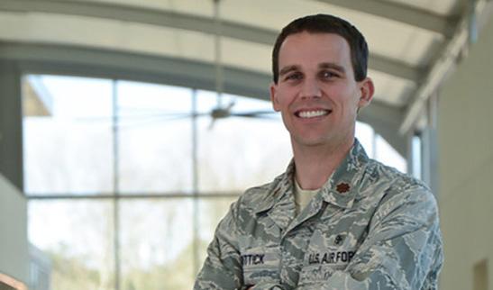 Air Force Maj. Travis Wittick