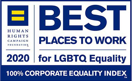 Human Rights Campaign Foundatio Beat Places to Work Logo