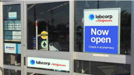 Labcorp at Walgreens: Now in 20 States