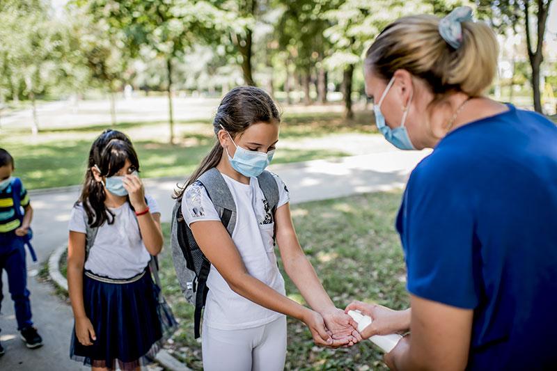 Hand Sanitizer School