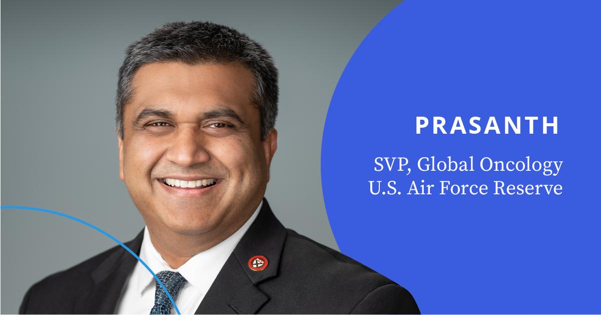 Prasanth SVP, Global Oncology