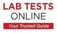 LabTestOnline logo